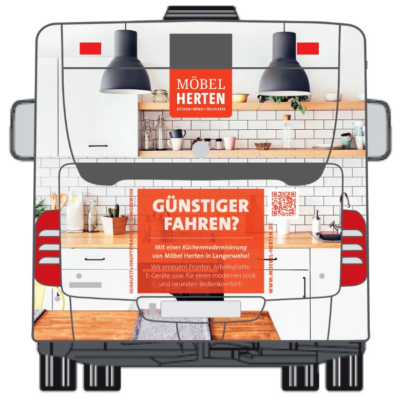 Buswerbung In Düren Günstiger Fahren Möbel Herten